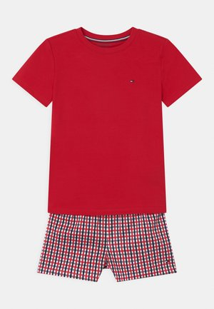 Pyjama - primary red/gingham