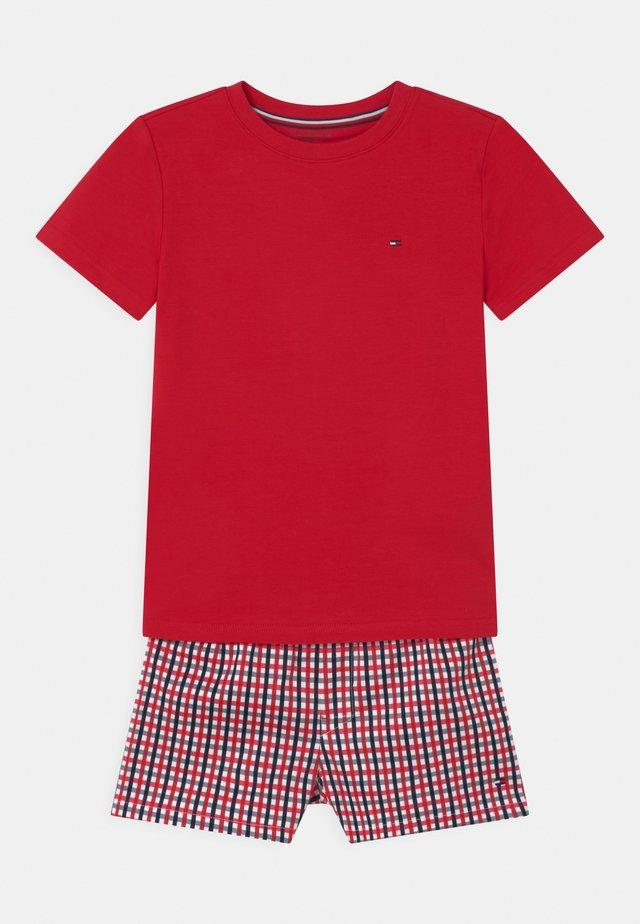 Pijama - primary red/gingham