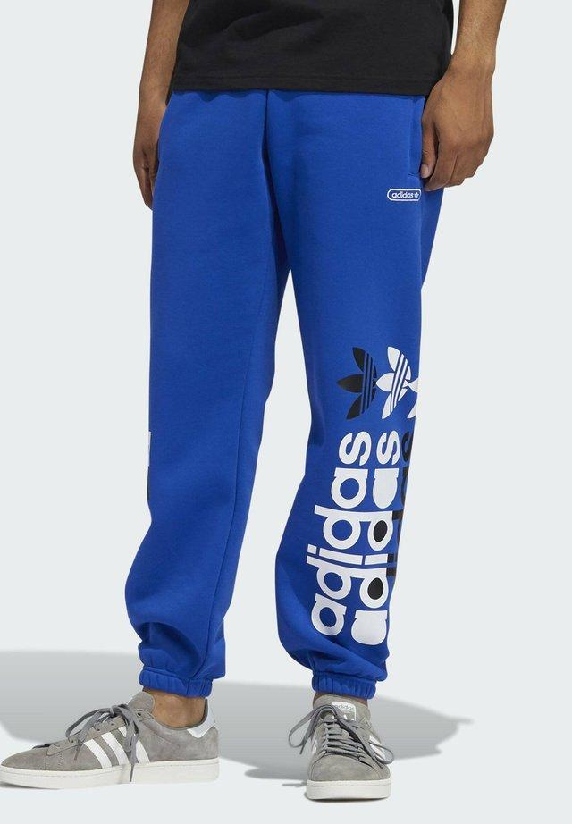 FORUM JOGGERS - Tracksuit bottoms - blue