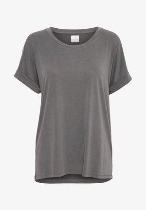 KAJSA - Jednoduché triko - grey