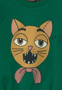 Mini Rodini - BABY CAT CHOIR SP SWEATSHIRT - Mikina - green - 3
