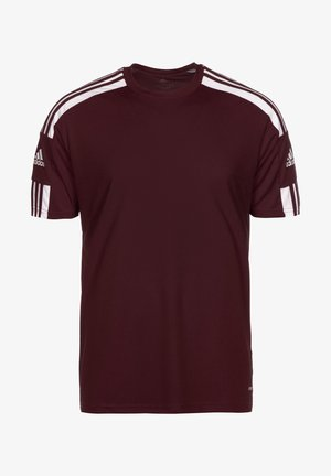 SQUAD 21 - T-shirts print - team maroon/white