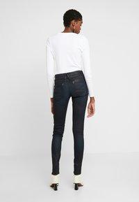 G-Star - LYNN BIKER MID SKINNY - Jeans Skinny Fit - worn in tidal cobler - 2