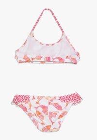 Sunuva - GIRLS BATIK FISH HALTER FRILL - Bikini - pink - 1