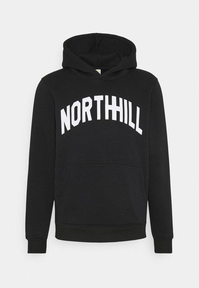 VARSITY HOODIE - Sweater - black
