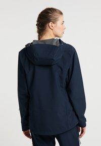 PYUA - Waterproof jacket - navy blue - 2
