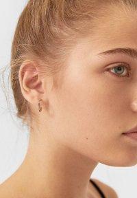 Stradivarius - Earrings - gold - 1