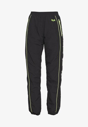 UNA - Tracksuit bottoms - black