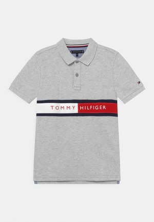 FLAG - Polo shirt - light grey heather
