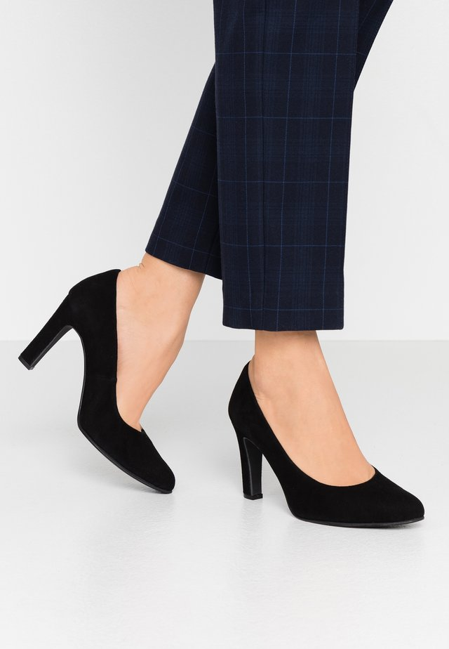 WIDE FIT BIBI - Højhælede pumps - nero