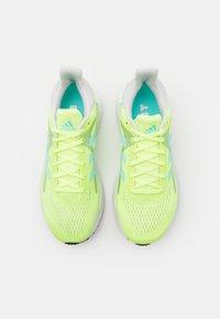 adidas Performance - SOLAR GLIDE 3 - Neutrální běžecké boty - hi-res yellow/clear aqua/dash grey - 3