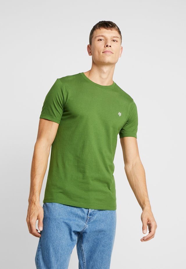SHORT SLEEVE ROUND NECK - Basic T-shirt - garden green