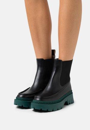 JOEY BOOTIE - Platform ankle boots - black