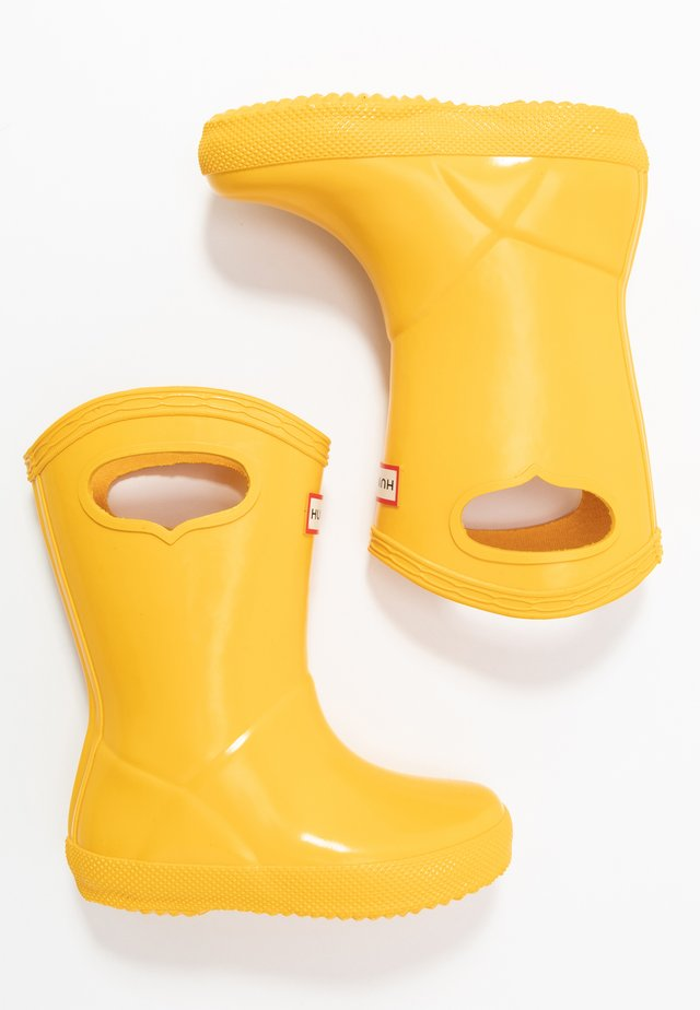 KIDS FIRST CLASSIC PULL-ON GLOSS - Wellies - yellow
