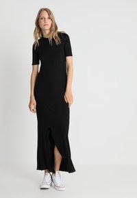 New Look Tall - T-SHIRT DRESS  - Maxi dress - black - 0