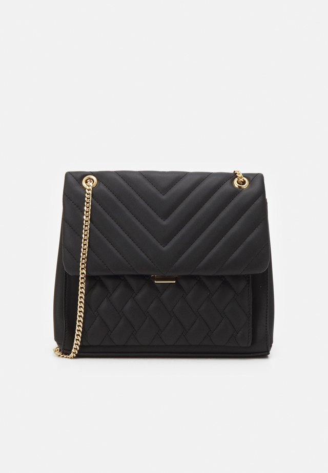 JULIA QUILTED BAG - Kabelka - black