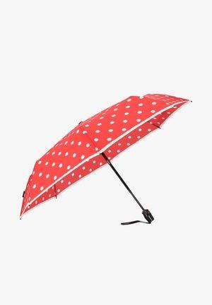 Medium Duomatic - Umbrella - dot art red