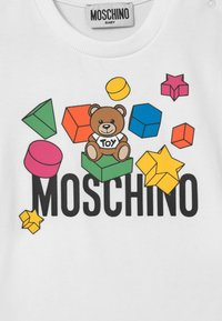 MOSCHINO - UNISEX - Triko s potiskem - optic white - 2