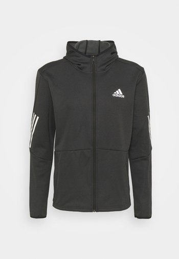 FULL ZIP TRAINING WORKOUT AEROREADY - Training jacket - black