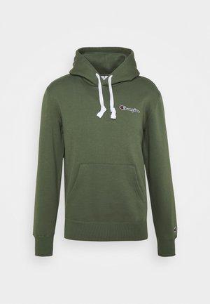 HOODED - Sweatshirt - olive