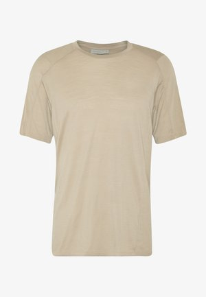 NATURE DYE GALEN  - Basic T-shirt - almond