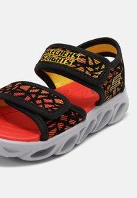 Skechers - HYPNO SPLASH - Sandals - black/red - 6