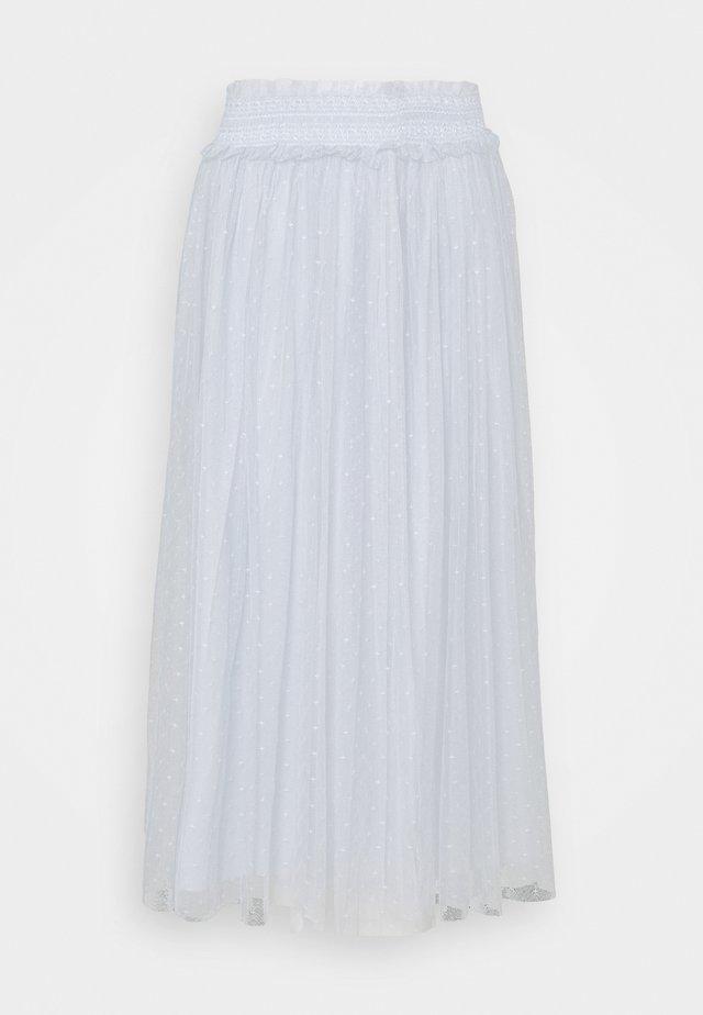 HONEYCOMB SMOCKED BALLERINA SKIRT EXCLUSIVE - A-line skirt - blue mist