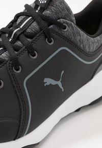 Puma Golf - GRIP FUSION 2.0 - Golfové boty - black/quiet shade - 5