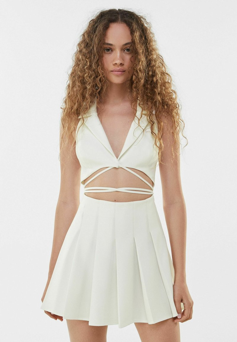 Bershka - Cocktail dress / Party dress - white