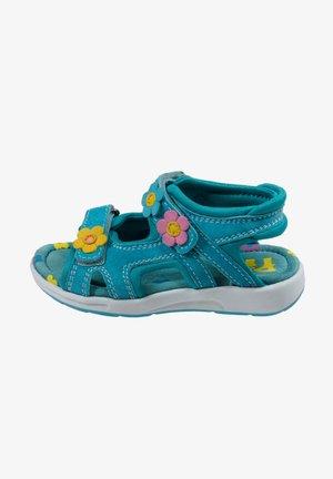 MIT KLETTVERSCHLUSS - Walking sandals - turquoise