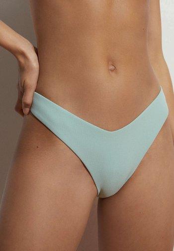 HOCH GESCHNITTENER  - Bikini bottoms - green