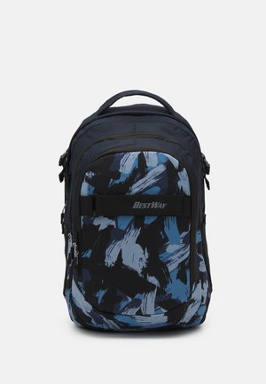 BACKPACK UNISEX - Ryggsekk - navy blue/light blue
