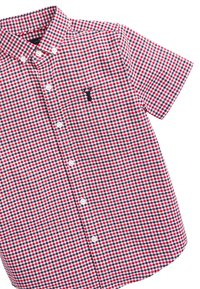 Next - RED/NAVY/WHITE SHORT SLEEVE GINGHAM OXFORD SHIRT (3-16YRS) - Camicia - red - 2