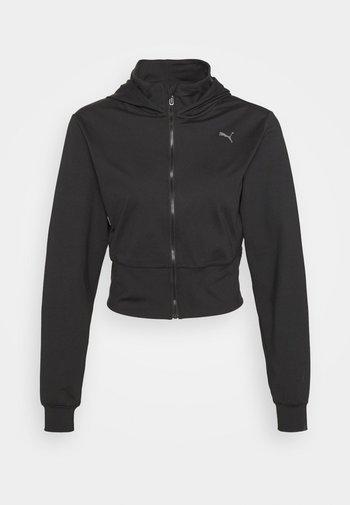 STUDIO YOGINI BACK FULL ZIP - Training jacket - black