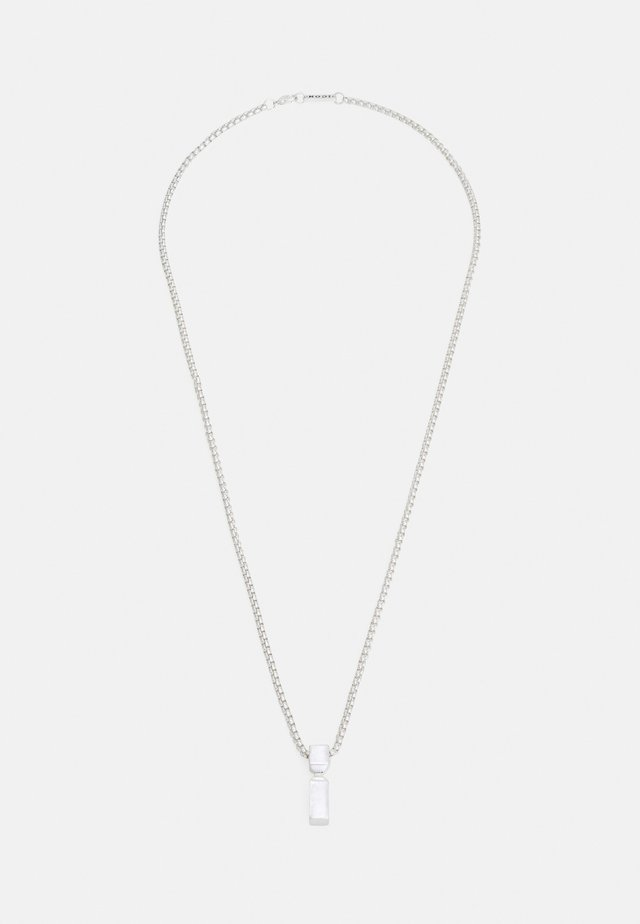 PINCH NECKLACE - Halskæder - silver-coloured