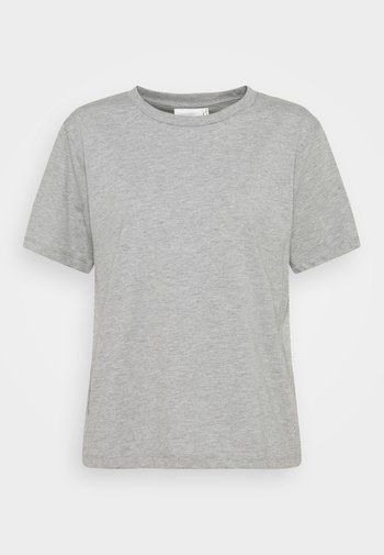 ROXIE TEE - Basic T-shirt - grey melange
