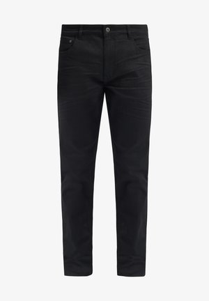 FYNN - Straight leg jeans - black denim