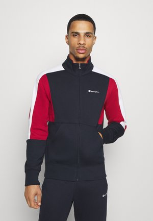 LEGACY FULL ZIP SUIT - Survêtement - dark blue/dark red