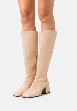 SLFFREYA HIGH SHAFTED BOOT  - Boots - sandshell