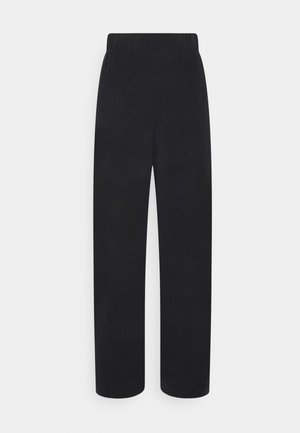 CLEO TROUSERS - Bukse - black dark