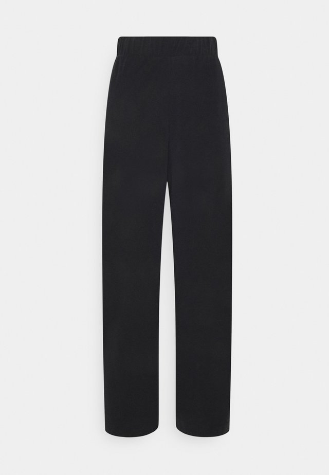 CLEO TROUSERS - Pantaloni - black dark
