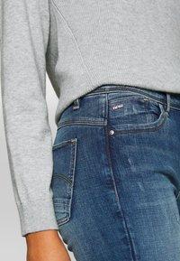 G-Star - LHANA HIGH SUPER SKINNY - Jeans Skinny Fit - blue denim - 4