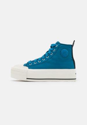 S-ASTICO MC WEDGE - Vysoké tenisky - blue