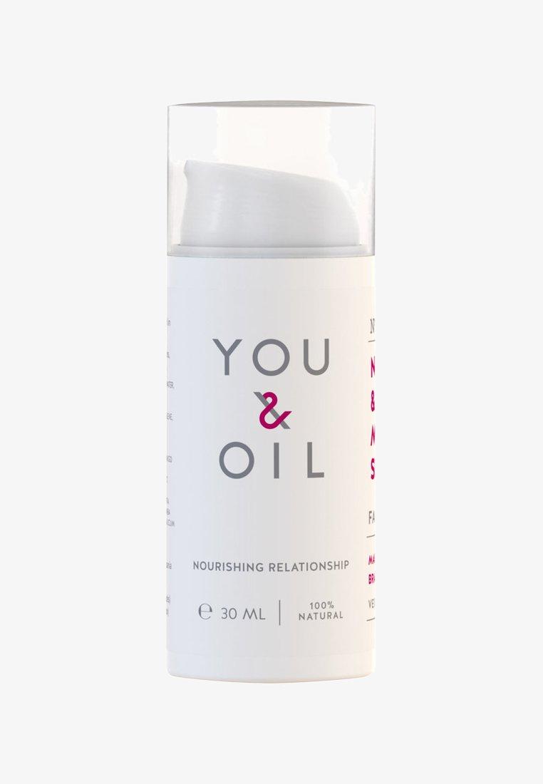 YOU & OIL - FACE CREAM NOURISH & ENERGISE MATURE SKIN 30ML - Face cream - -