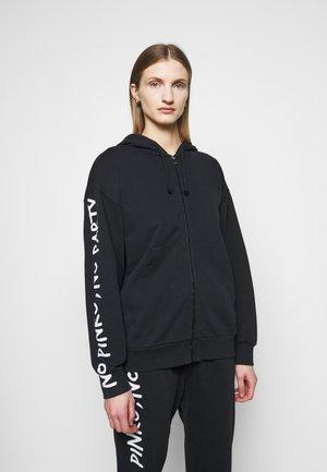 CIVICA FELPA - Zip-up hoodie - black