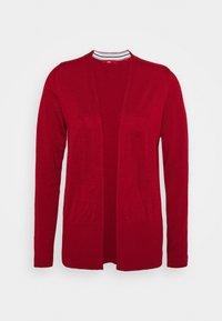 LANGARM - Vest - dark red