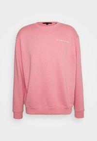 Mennace - ON THE RUN REGULAR UNISEX - Bluza - pink - 0
