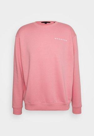 ON THE RUN REGULAR UNISEX - Sweatshirt - pink