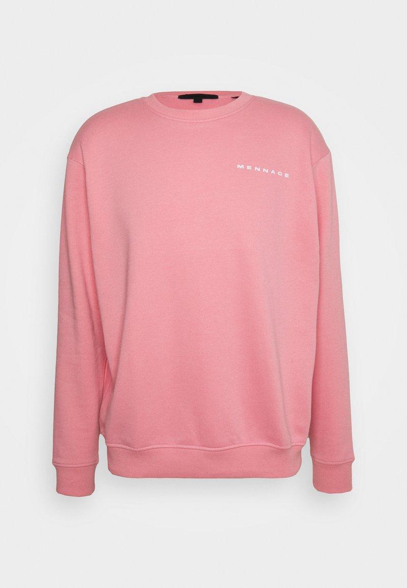 Mennace - ON THE RUN REGULAR UNISEX - Bluza - pink