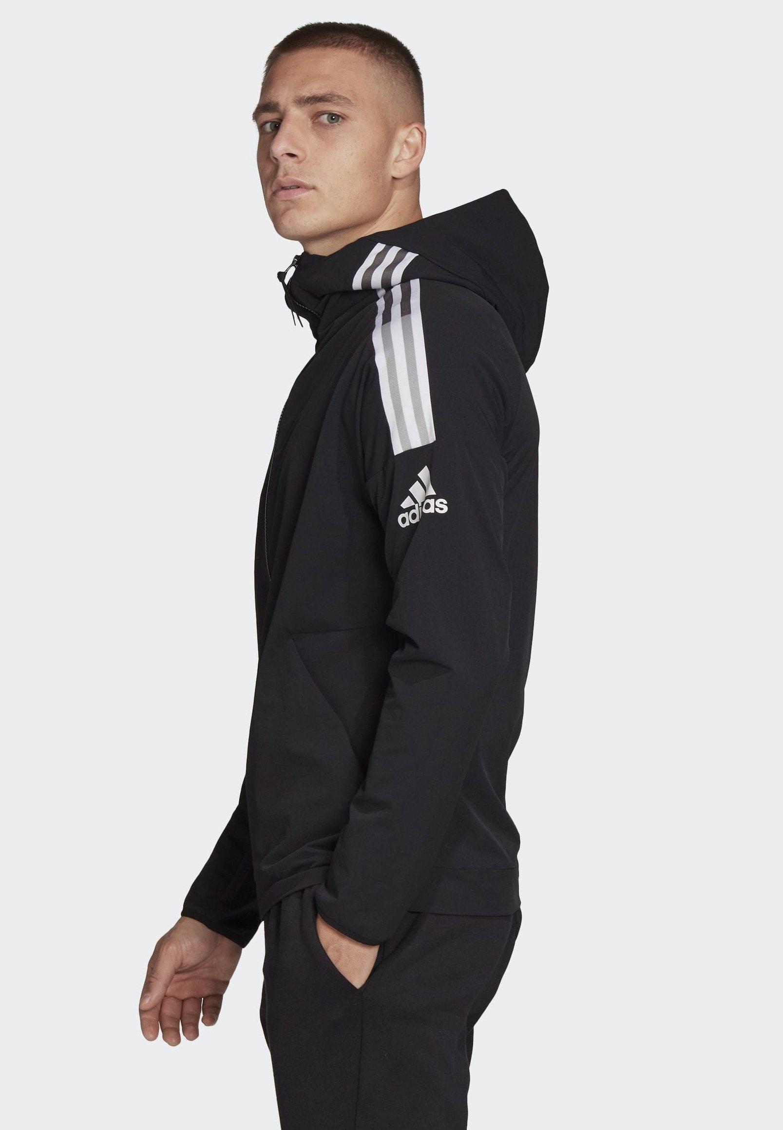 adidas Männer Aeroready Woven 3 Streifen Jacke black